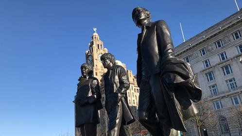 Beatles sculptures in Liverpool