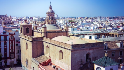 View out over rooftops of Seville
