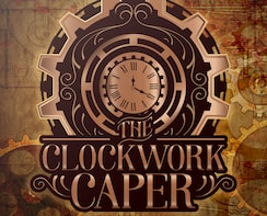 Show item 2 of 3. Poster for The Clockwork Caper