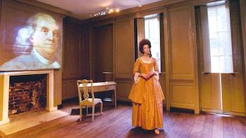 Historiske oplevelse i Benjamin Franklins hus