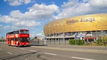 "Passeio de ônibus ""hop-on/hop-off"" em Gdansk"