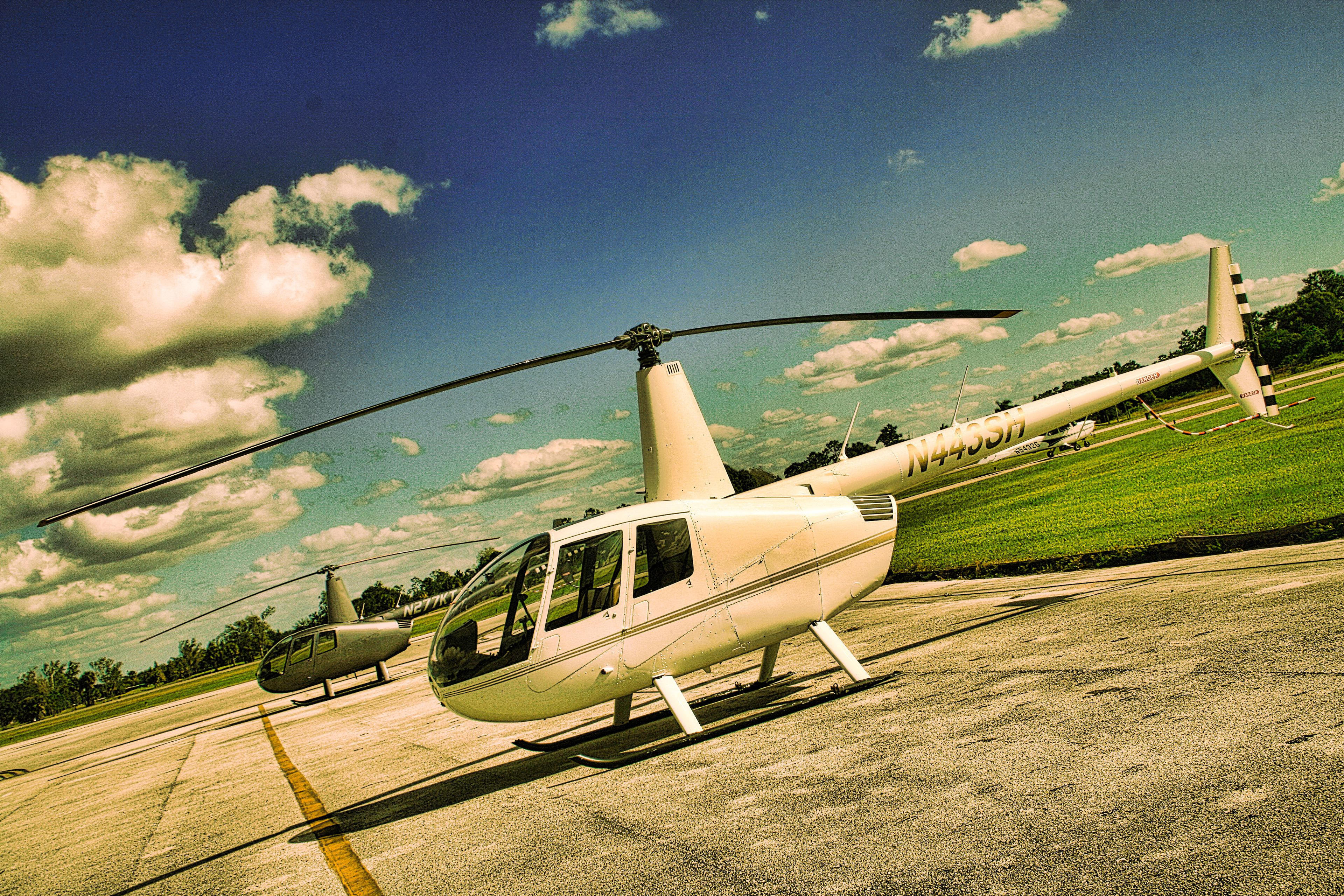 Helicopter in Florida