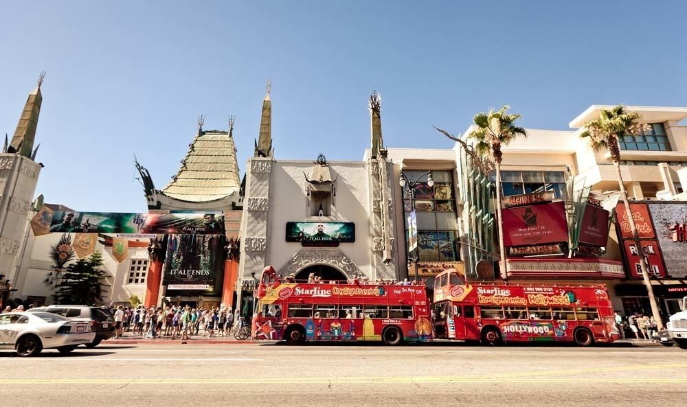 The Chinese Theatre in Los Angeles, California