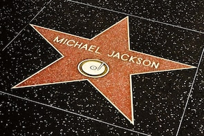 Show item 3 of 6. Michael Jackson star on the Hollywood Walk of Fame in Los Angeles, California