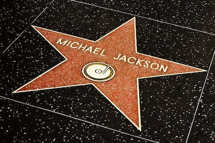 Michael Jackson star on the Hollywood Walk of Fame in Los Angeles, California