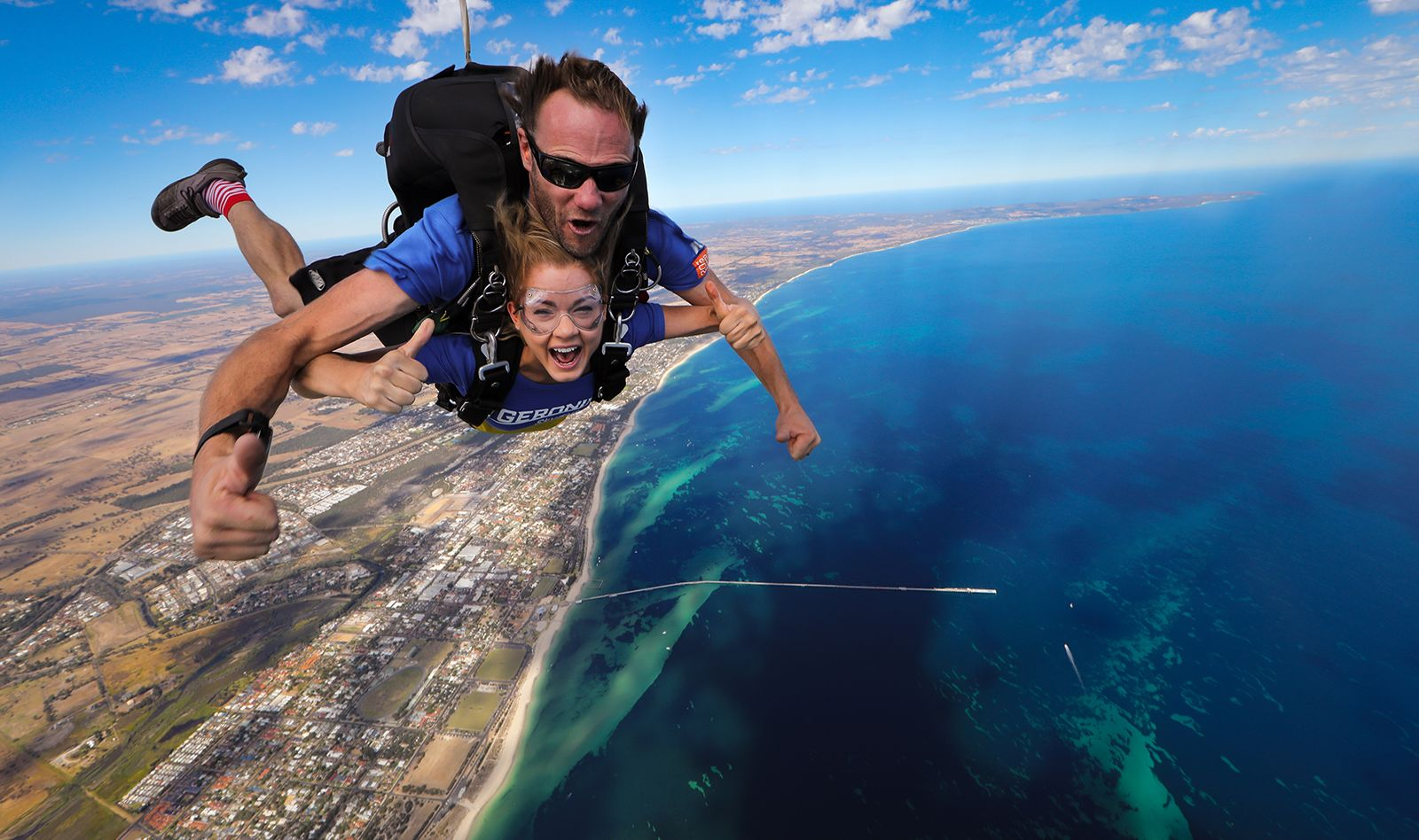 Exciting 8,000ft Busselton Beach Tandem Skydive