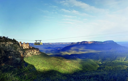 Gondola over the forest canopy of the Blue Mountains, Australia