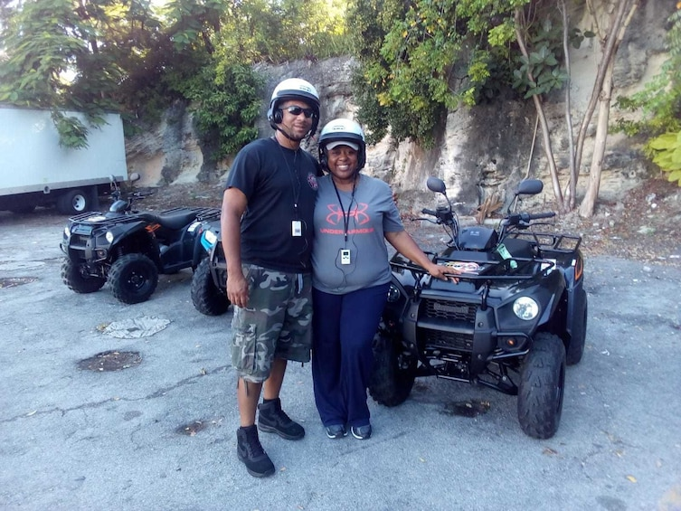 Show item 4 of 9. ATV Rental in Nassau-KAWASAKI 300CC