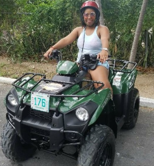 Show item 2 of 9. ATV Rental in Nassau-KAWASAKI 300CC