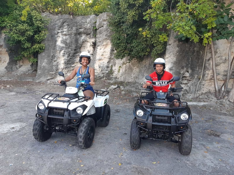 Show item 5 of 9. ATV Rental in Nassau-KAWASAKI 300CC