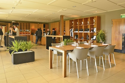 View inside the half-day wine tour in Marlborough, New Zealand
