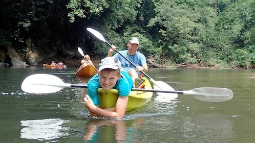 Kayaking in Kuching, Malaysia