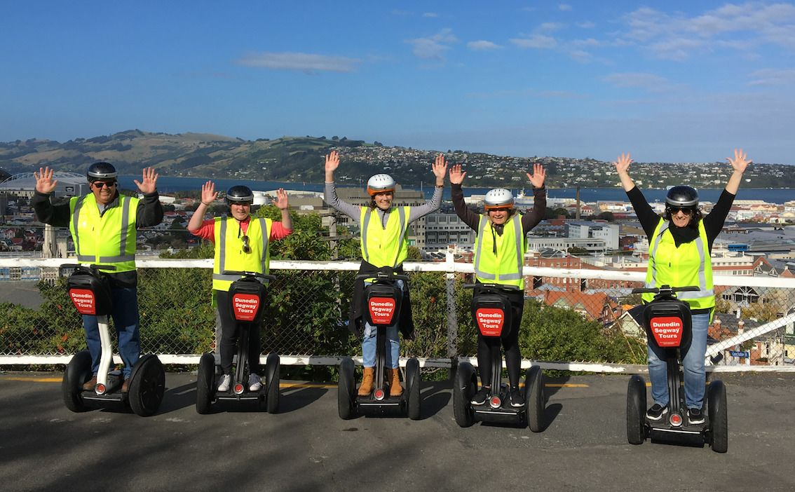 2-Hour Dunedin City Guided Segway Tour