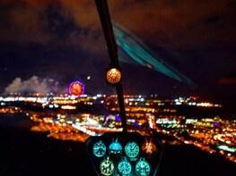 Evening Theme Park Flight