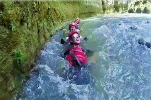 Caving & Body Rafting Adventure in a Private Nature Reserve