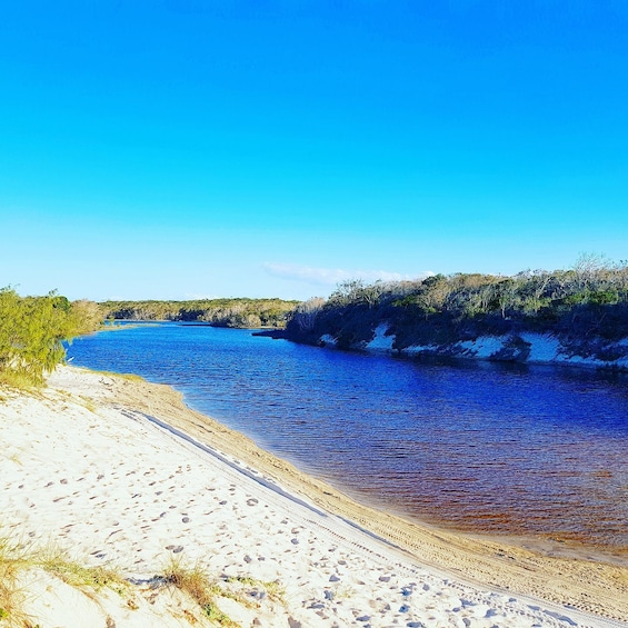 Show item 10 of 10. Relaxing views on the   Bribie Island Adventure Tour