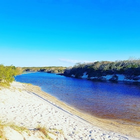 Relaxing views on the Bribie Island Adventure Tour