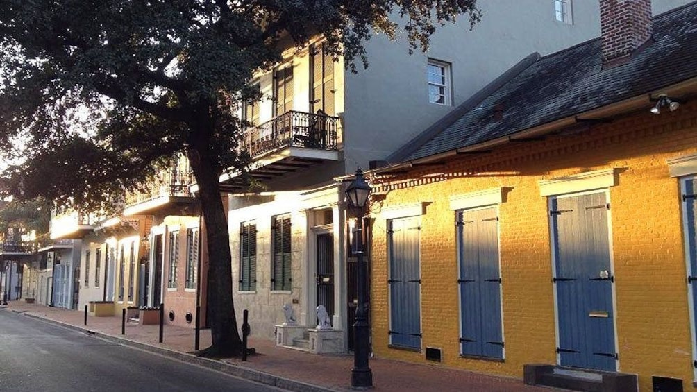Show item 3 of 3. View of buildings in New Orleans
