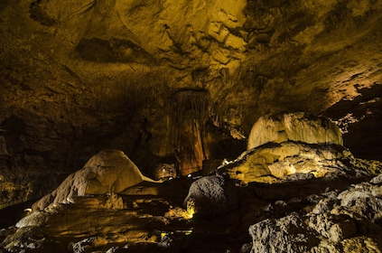 Inside cavern in Rio Camuy Cave Park