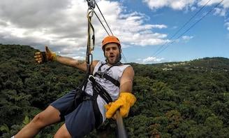 Zipline Canopy Adventure in El Yunque - Tour from San Juan