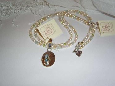 Jewelry on display in Salado