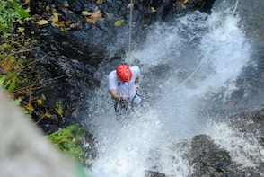 The Canyoning & Rappelling Waterfall Tour