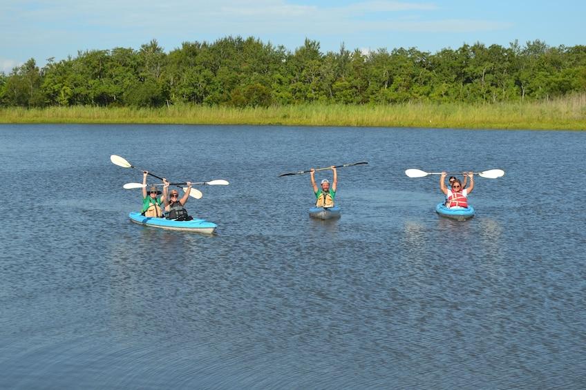 Show item 3 of 4. Delta Wildlife Kayak Tour