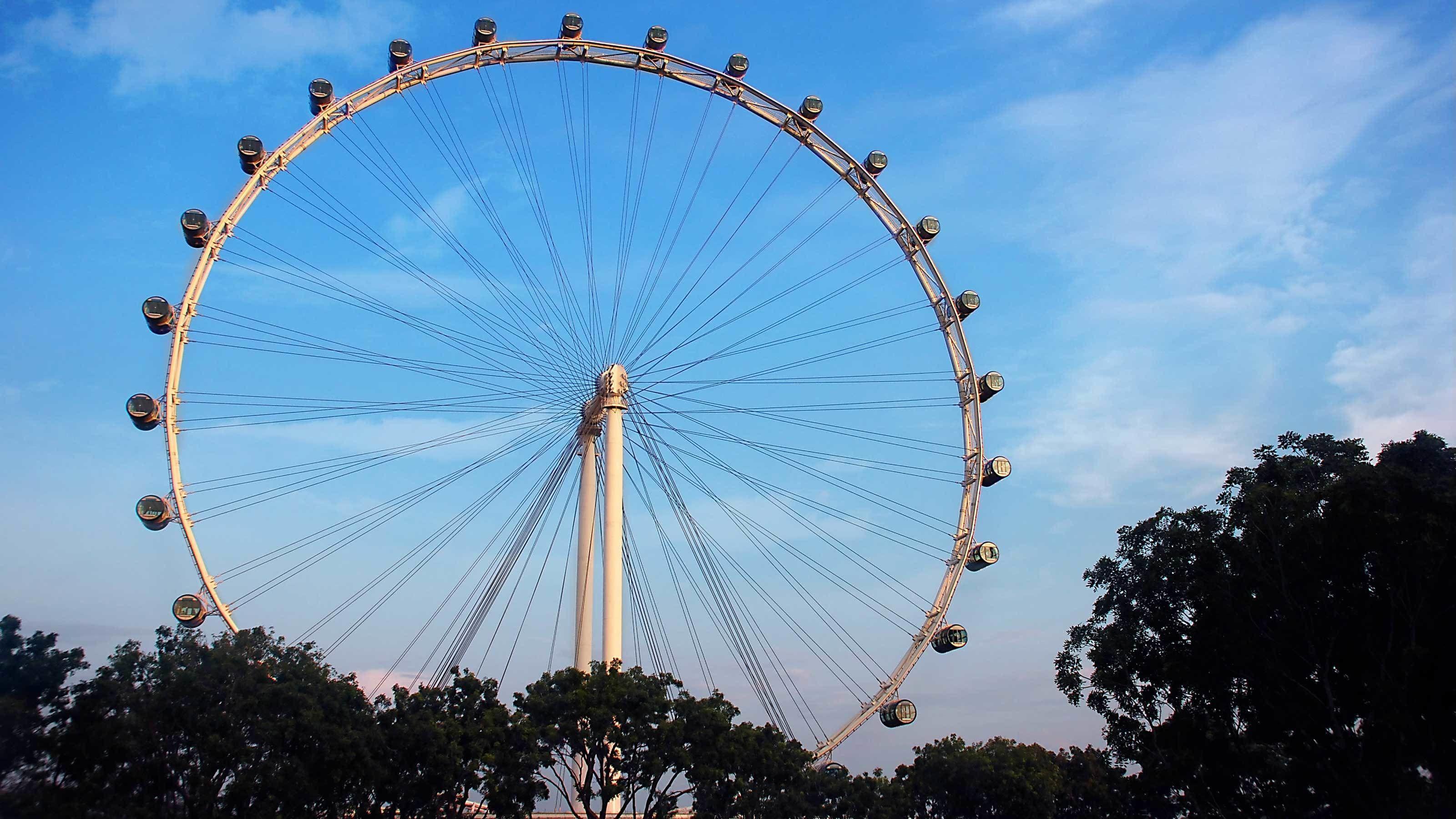 Singapore Flyer-reuzenrad in combinatie met DUCKtours of hop-on, hop-off si...
