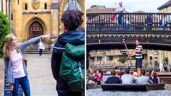 Combo: Cambridge University Tour & Punting on the River Cam