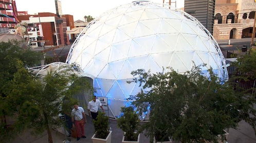 Exterior of the Dome in Las Vegas
