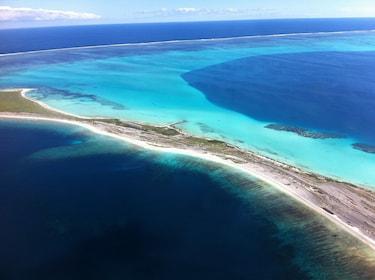 Abrolhos Islands aerial view