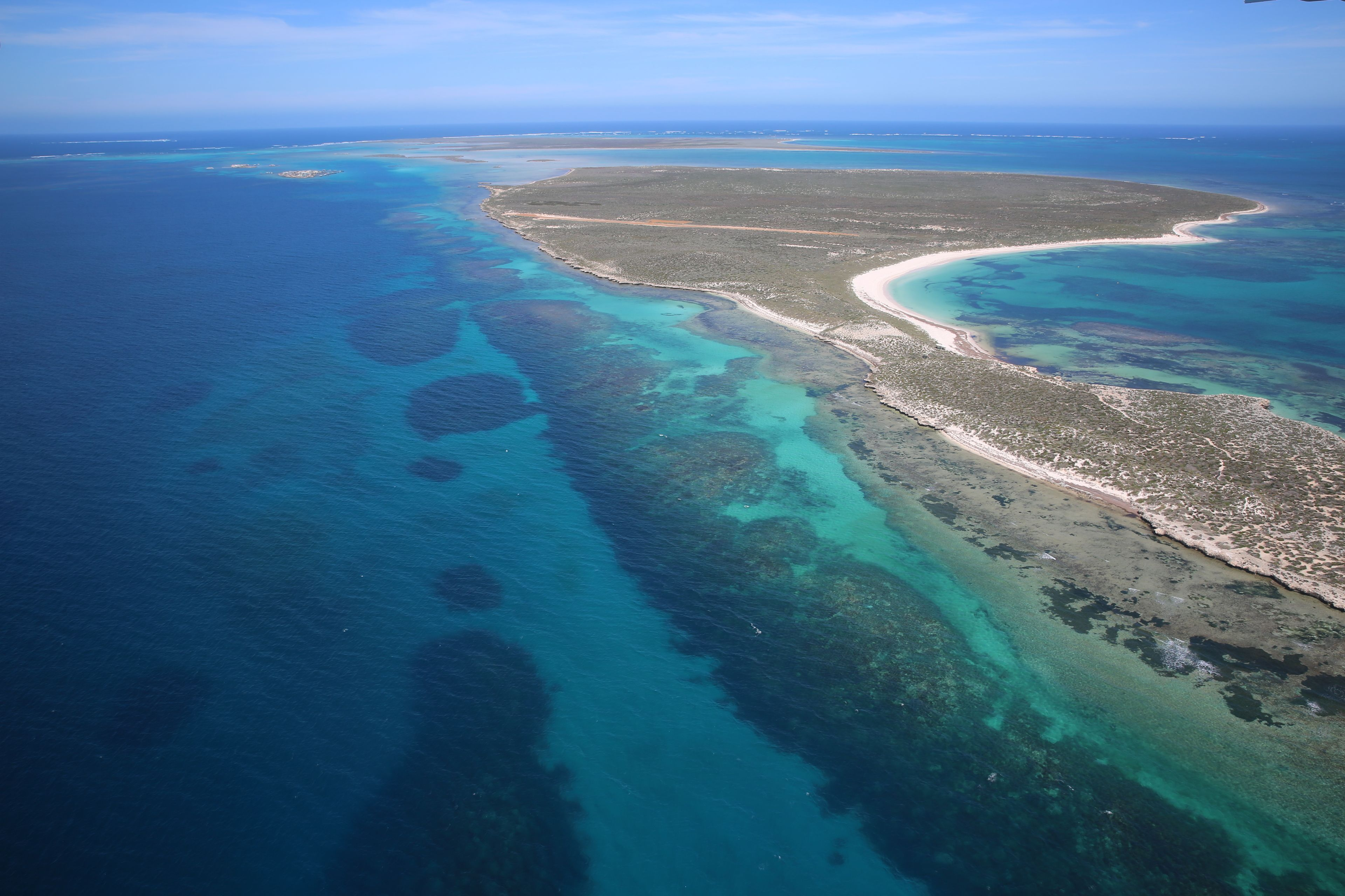 Abrolhos Islands Flyover Tour with Tea