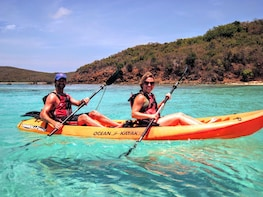 Culebra Island Kayak and Snorkel Adventure from Ceiba