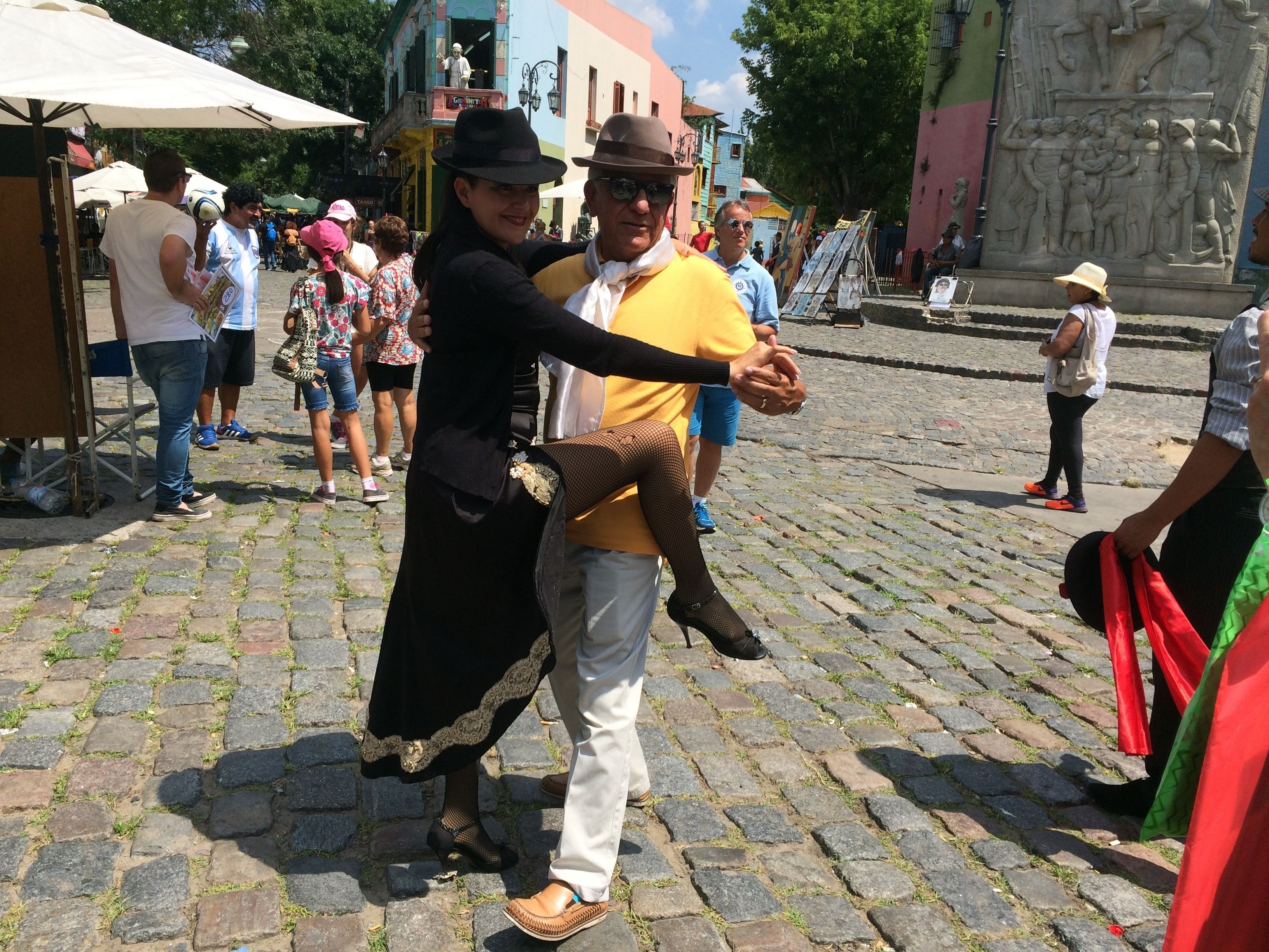 People dancing in Buenos Aires