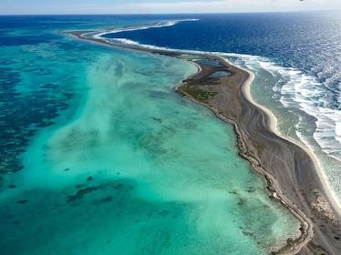 Clear blue waters in Australia