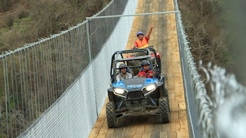 Guided UTV Ride to Jorullo Bridge