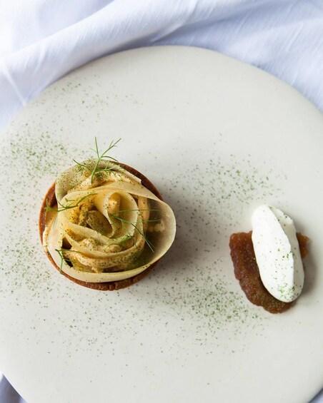 Show item 3 of 4. Small dish at restaurant in Australia