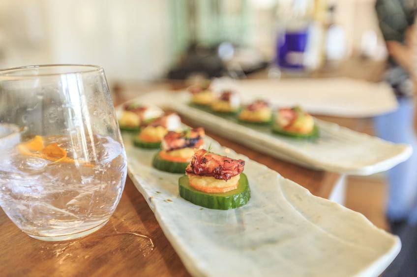 Show item 1 of 4. Platters of cuisine at restaurant in Australia