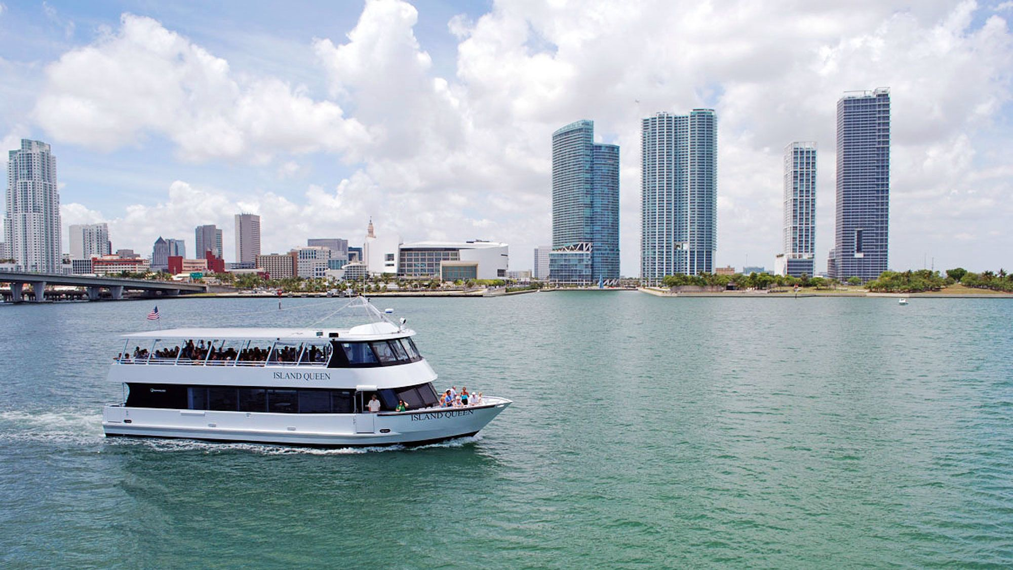 Miami Day Trip from Orlando with Biscayne Bay Cruise