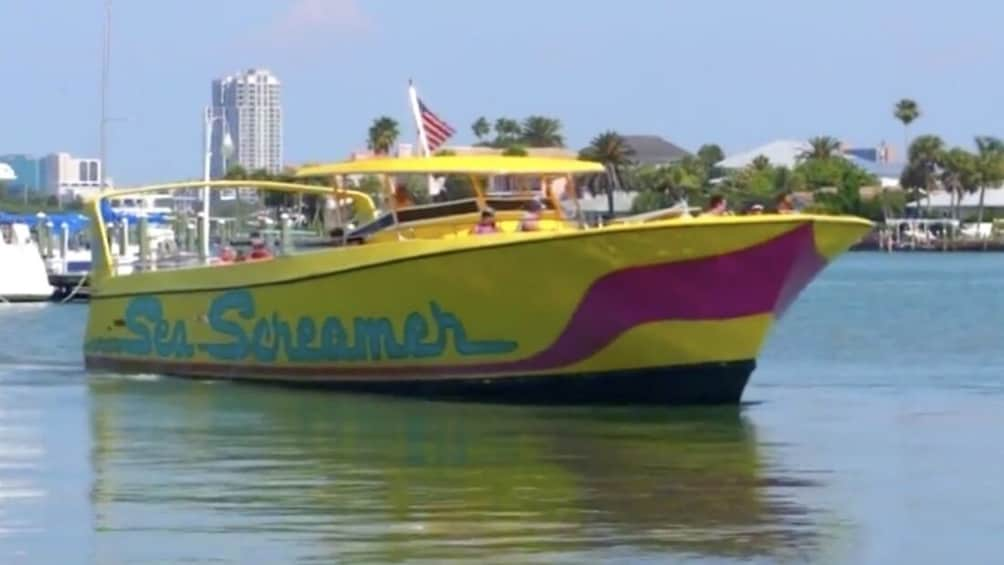 Day Trip to Clearwater Beach with Sea Screamer Ride & Lunch