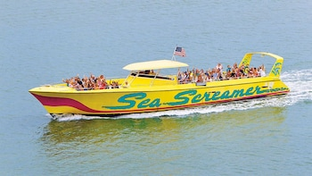 Excursion d'une journée à Clearwater Beach avec Sea Screamer Ride