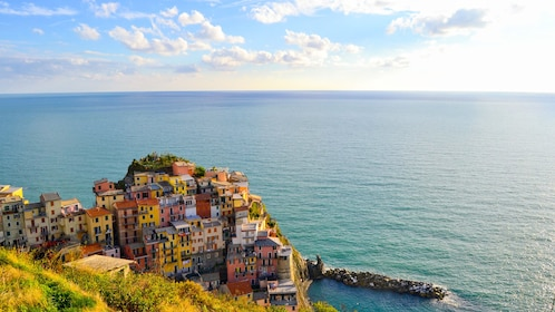 Cinque Terre by the sea