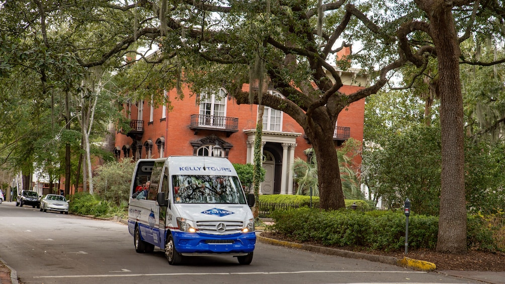 Show item 9 of 9. Convertible Sprinter Panoramic Tour of Savannah