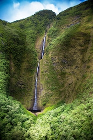 Waterfall on Hawaii's Big Island