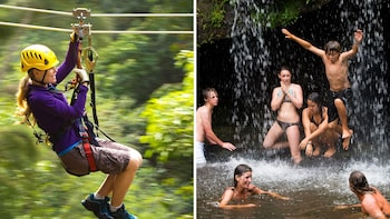 Zip, Dip & Waterfall Adventure