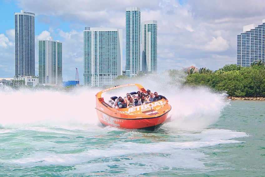 Show item 3 of 6. Jet Boat in Miami