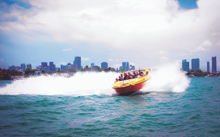 Show item 2 of 6. Jet Boat in Miami