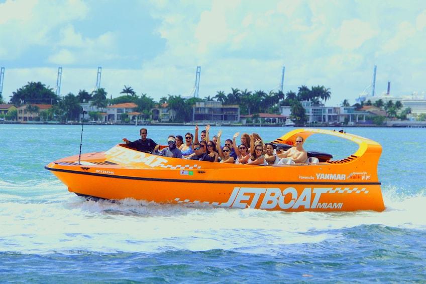 Show item 1 of 6. Jet Boat in Miami