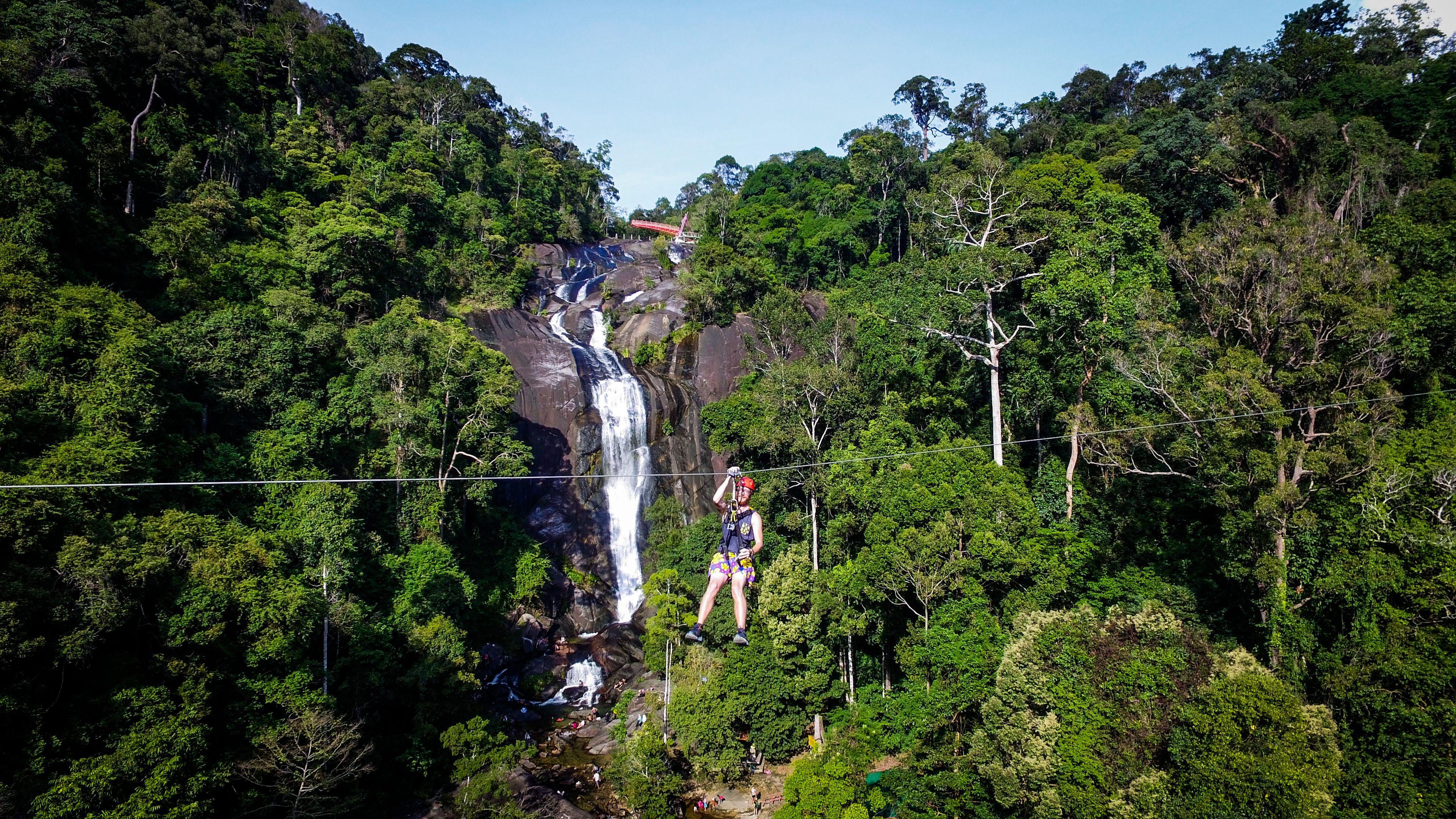 Zip line Eco Adventure - Big Waterfall Adventure