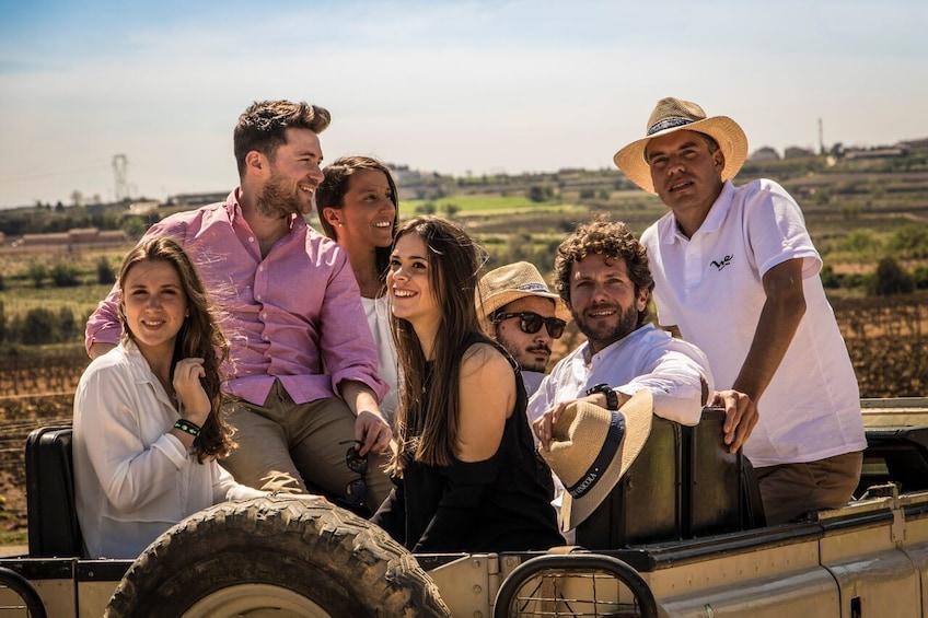 Wine & Cava with Tapas & 4WD Vineyards Experience